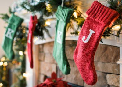 Letter Stockings
